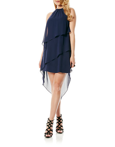 LAUNDRY BY SHELLI SEGALAsymmetrical Tiered Dress