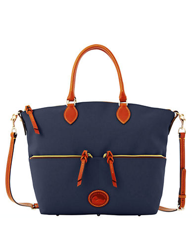 DOONEY & BOURKELarge Pocket Satchel Bag