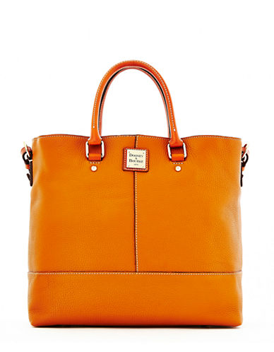 DOONEY & BOURKE Pebbled Leather Tote
