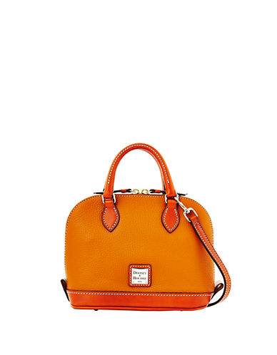 DOONEY & BOURKEBitsy Leather Colorblock Bowler Bag
