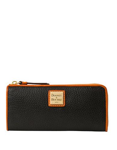 Dooney & Bourke Leather Zip Clutch