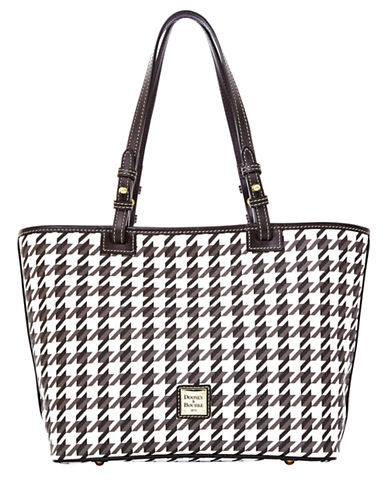 DOONEY & BOURKE Coated Cotton Small Leisure Shopper Tote Bag