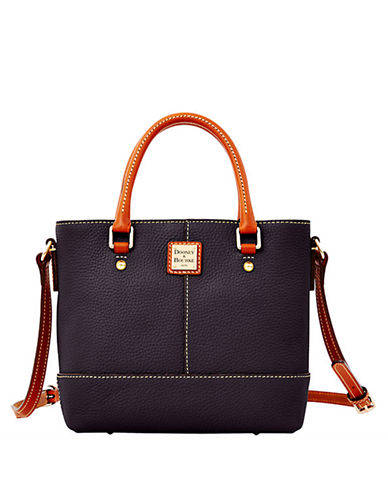 DOONEY & BOURKE Mini Chelsea Pebbled Leather Tote Bag