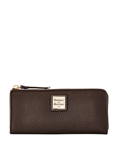 DOONEY & BOURKE Leather Zip Clutch