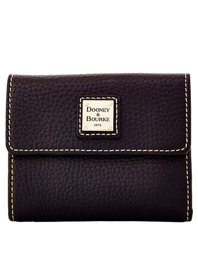 DOONEY & BOURKE Leather Small Flap Card Wallet
