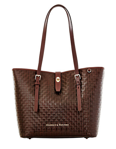 Dooney & Bourke Embossed Leather Tote