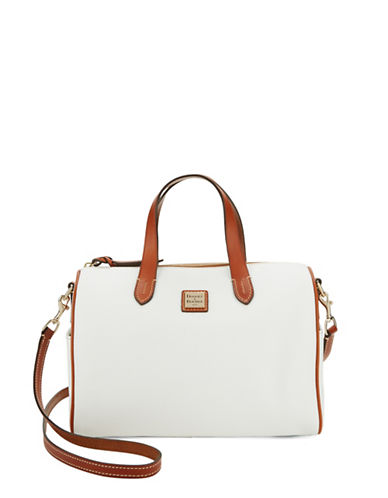 DOONEY & BOURKE Olivia Pebbled Leather Satchel
