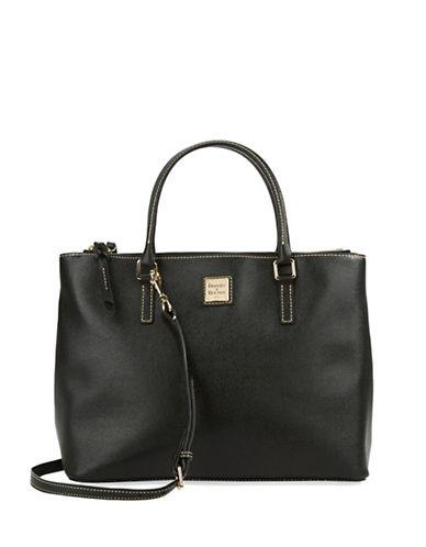 Dooney & Bourke Willa Zip Leather Satchel Bag