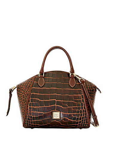 DOONEY & BOURKE Sydney Embossed Leather Satchel