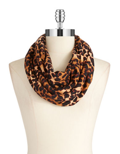 COLLECTION 18 Infinity Loop Animal Print Scarf
