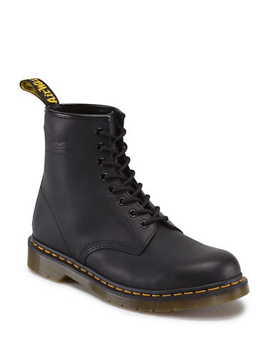 DR. MARTENS 1460 Leather Ankle Boots