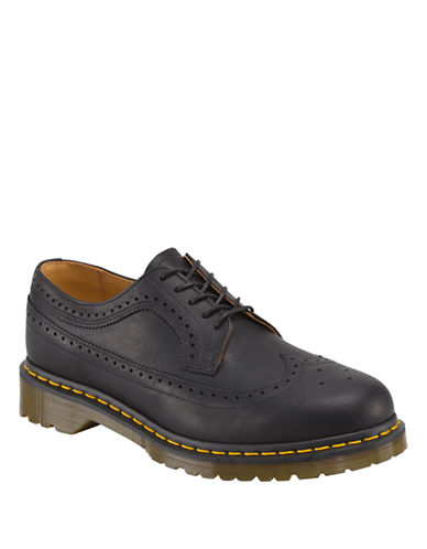 DR. MARTENS 3989 Leather Brogue Oxfords