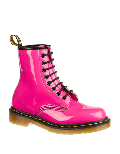 DR. MARTENS Originals 1460 Patent Leather Boots