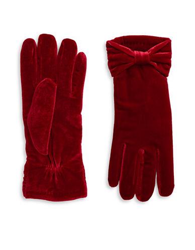 CEJONVelvet Bow Gloves