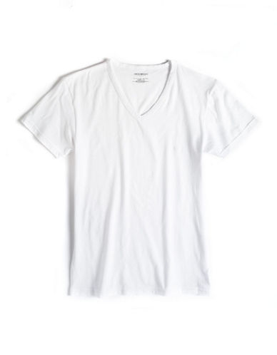 EMPORIO ARMANI Graphic V-Neck T-Shirt