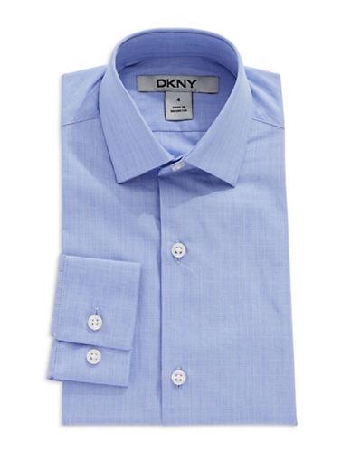 DKNYBoys 2-7 Plaid Dress Shirt