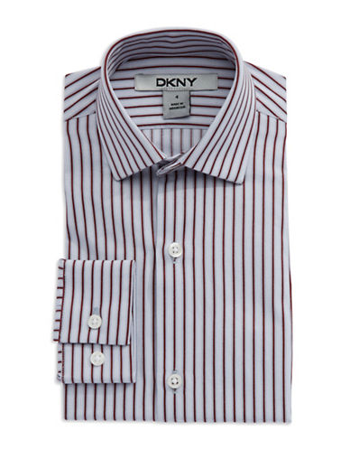 DKNYBoys 2-7 Striped Dress Shirt