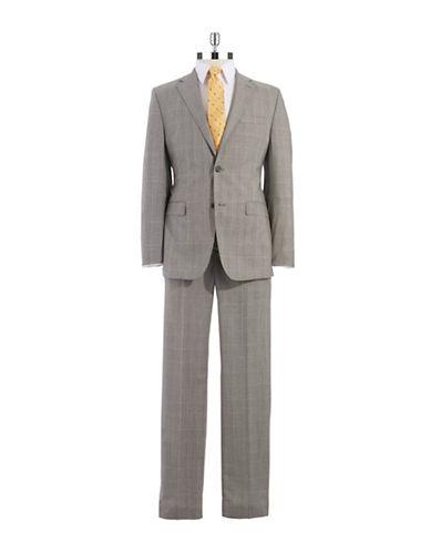 LAUREN RALPH LAURENClassic Fit Two-Piece Plaid Pants Suit