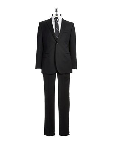 LAUREN RALPH LAURENSlim Fit Two-Piece Wool Pants Suit