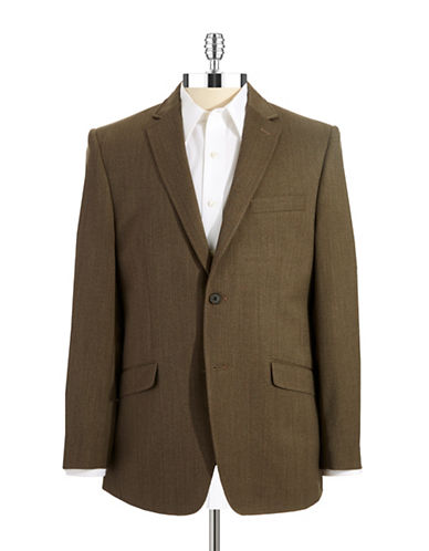 BLACK BROWN 1826 Twill Suit Coat
