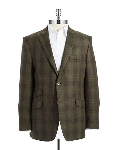 BLACK BROWN 1826Slim Fit Wool Blazer