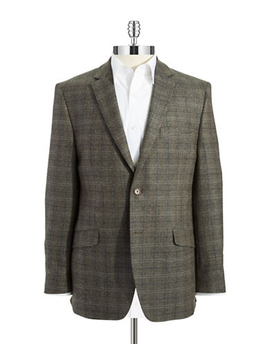 BLACK BROWN 1826 Slim Fit Wool Blazer