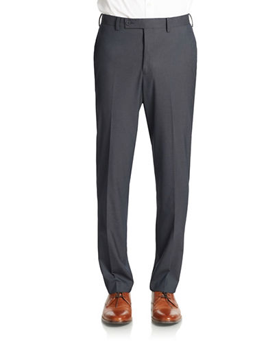 WILLIAM RAST Pindot Flat Front Pants