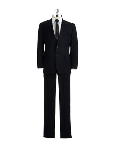 LAUREN RALPH LAUREN Classic Fit Two-Piece Wool Suit