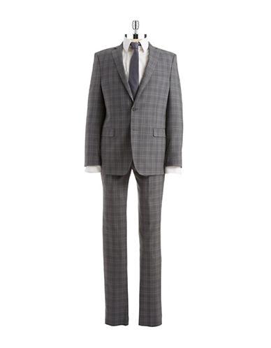 Two Piece Plaid Suit $187.50 AT vintagedancer.com