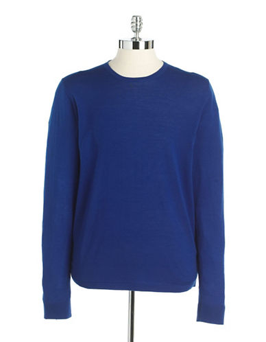 Wool Knit Crewneck Sweater
