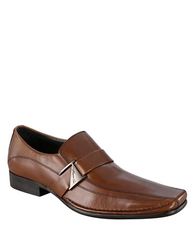 KENNETH COLE NEW YORKRun Around Leather Dress Loafers