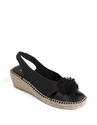 ANDRE ASSOUSDion Slingback Platform Espadrille Sandals