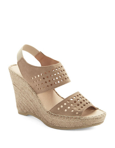 ANDRE ASSOUSCyline Suede Espedrille Wedges