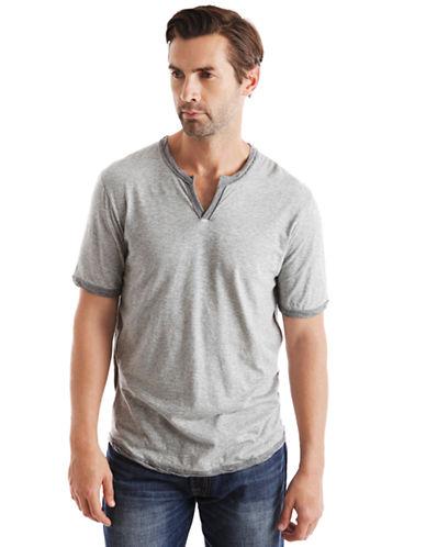 LUCKY BRANDWeekender Notch Neck T-Shirt