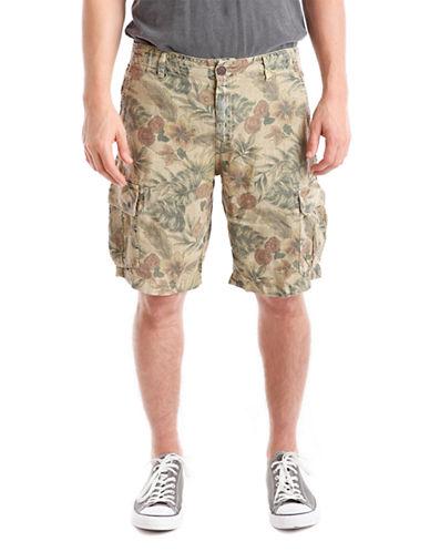 LUCKY BRANDFloral Print Cargo Shorts