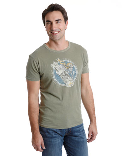 LUCKY BRAND Bones Bombs Graphic T-Shirt