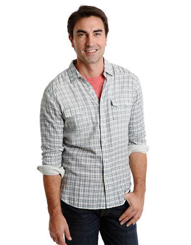LUCKY BRANDClassic Fit Cascade Western Sport Shirt