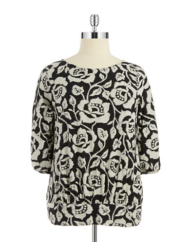 LUCKY BRAND PLUS Plus Rose Tunic