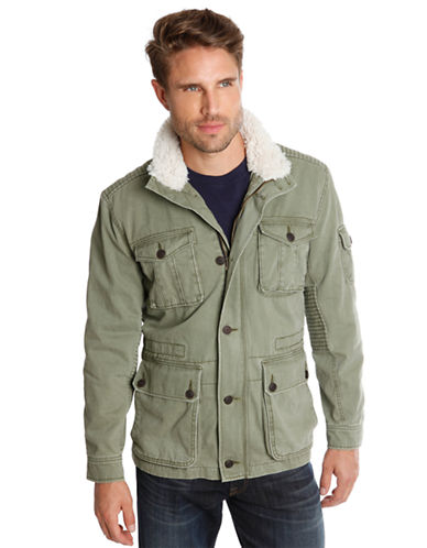 LUCKY BRAND Northridge Faux Fur Trimmed Parka