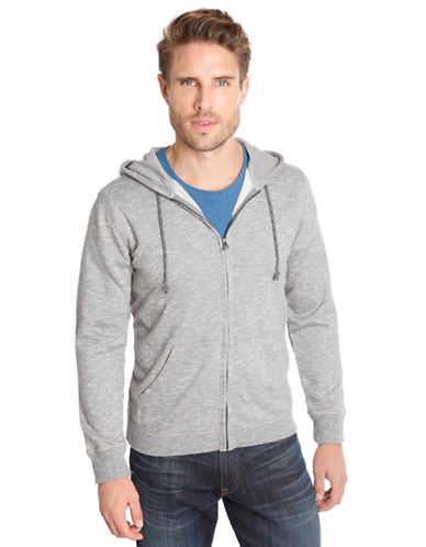 LUCKY BRAND Marled Zip Hoodie