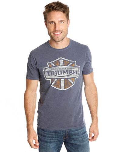LUCKY BRAND Triumph Shield Graphic T Shirt