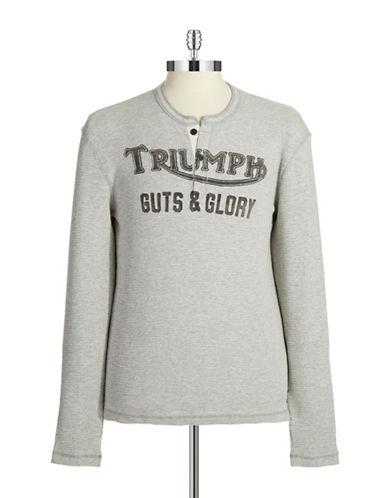 LUCKY BRANDGraphic Henley Shirt