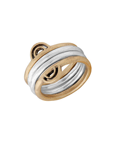 LUCKY BRAND Two-Tone Stacked Ring