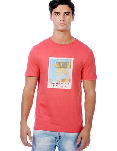 BUFFALO DAVID BITTONNiambic Photo Graphic T-Shirt