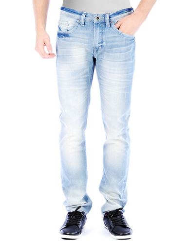 BUFFALO DAVID BITTON Ash Lucas Slim Straight Leg Jeans