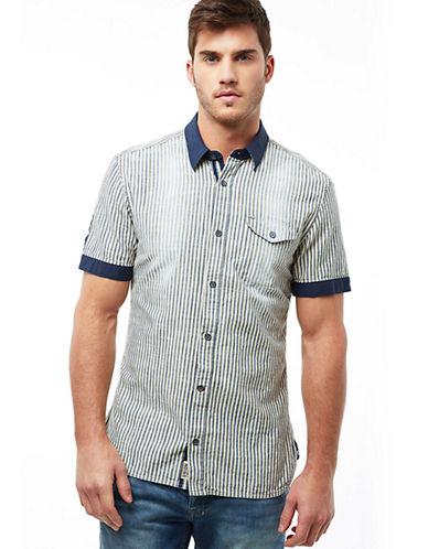 BUFFALO DAVID BITTONSagano Stripe Sport Shirt