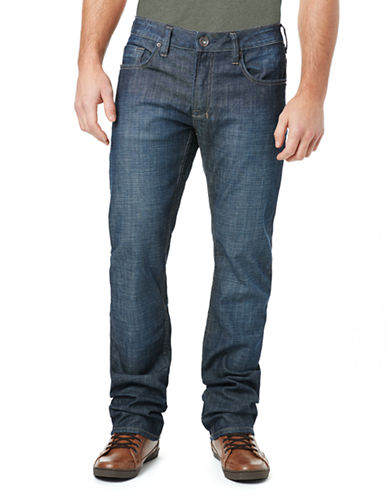 BUFFALO DAVID BITTON Six-X Basic Slim Straight Leg Jeans