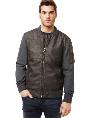 BUFFALO DAVID BITTON Jidfor Mixed Media Jacket