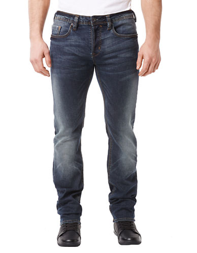 BUFFALO DAVID BITTON Evan Slim Fit X Tapered Jeans