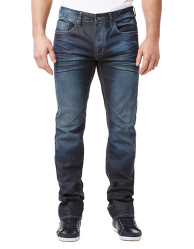 BUFFALO DAVID BITTON Six X Slim Straight Leg Jeans